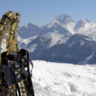 Schneeschuhwanderung zur Gassner Alpe