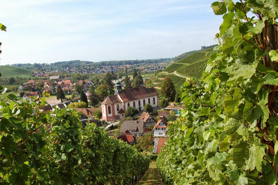Durbach - Von der Kirche in den Hilsbach