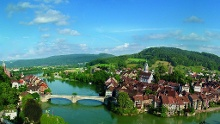 ViaRhenana: von Bad Säckingen nach Albbruck