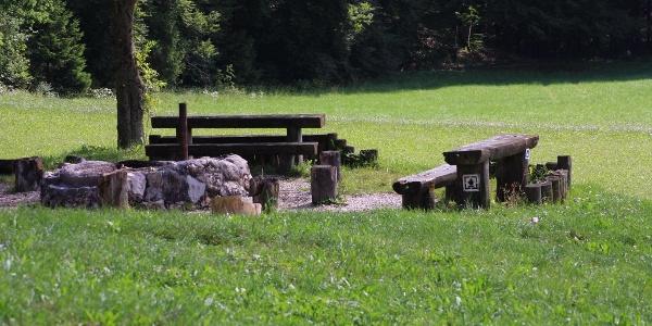 Grillplatz an der Fürstenhöhe