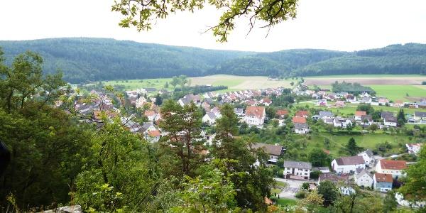 Aussicht von der Burghalde