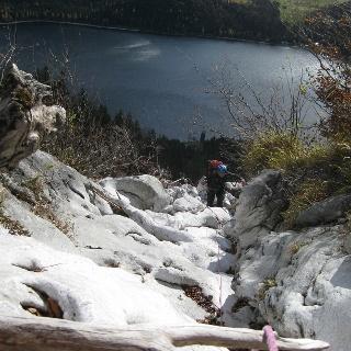 Tiefblick zum Altausseer See
