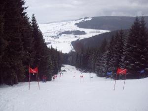 Winter im Erzgebirge, Lift am Rabenberg
