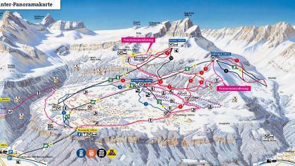 Winter-Panoramakarte