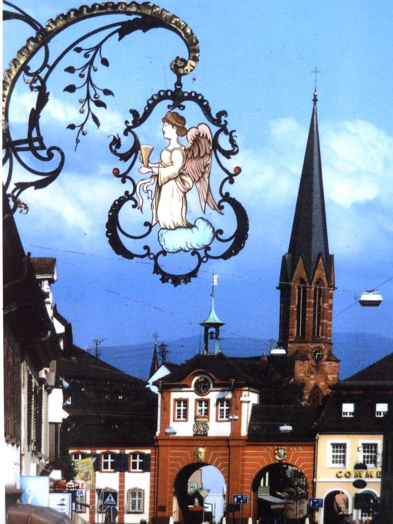 Breisgauer Weinweg 2. Etappe Glottertal/Föhrental, Hotel Kreuz nach Mundingen