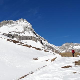 Blick Richtung Gipfel