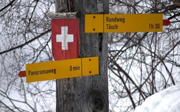 Panoramaweg Täsch