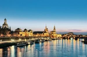 Foto Silhouette Dresden