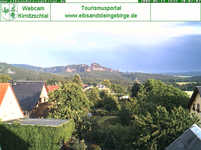 Foto Webcam Altendorf im Sommer