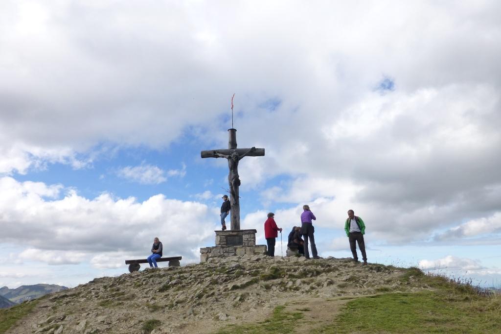 Neunerköpfle Gipfel  - @ Autor: Hartmut Wimmer  - © Quelle: Outdooractive Redaktion