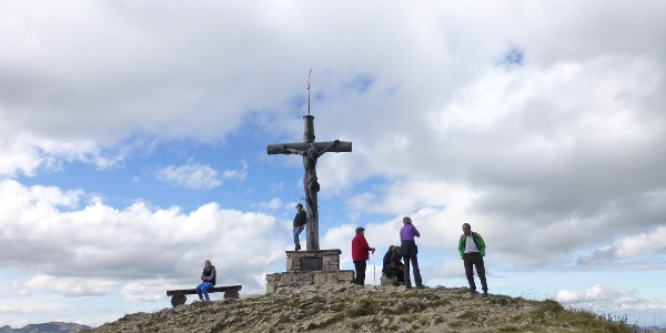 Neunerköpfle Gipfel