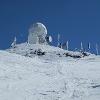 Die Wetterraderstation am Gipfel des Scharfes Ecks, 2364m