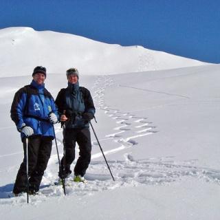 Skitour auf den Vilanz