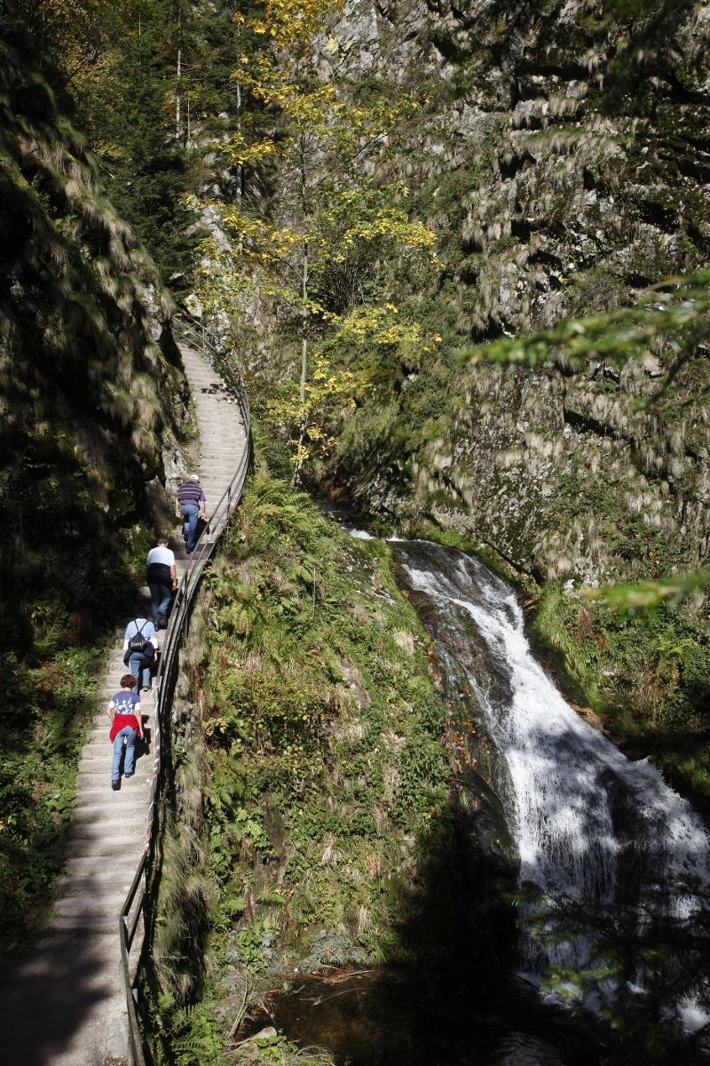 Renchtalsteig 5. Etappe; Allerheiligen Wasserfälle - Oberkirch Schauenburg