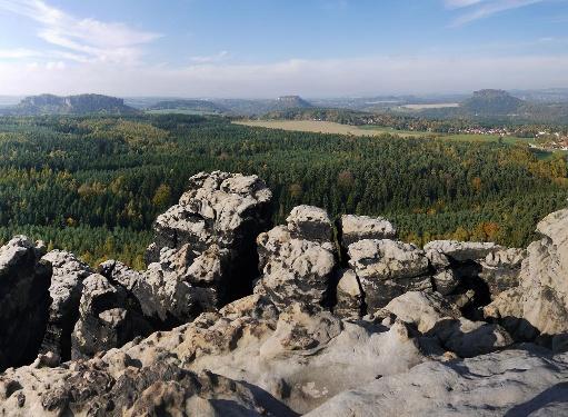 Foto Panoramablick vom Gohrisch