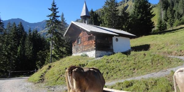 Kapelle auf dem Boden Vorsäss
