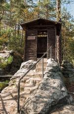 Foto Schlegelhütte auf dem Hermannseck