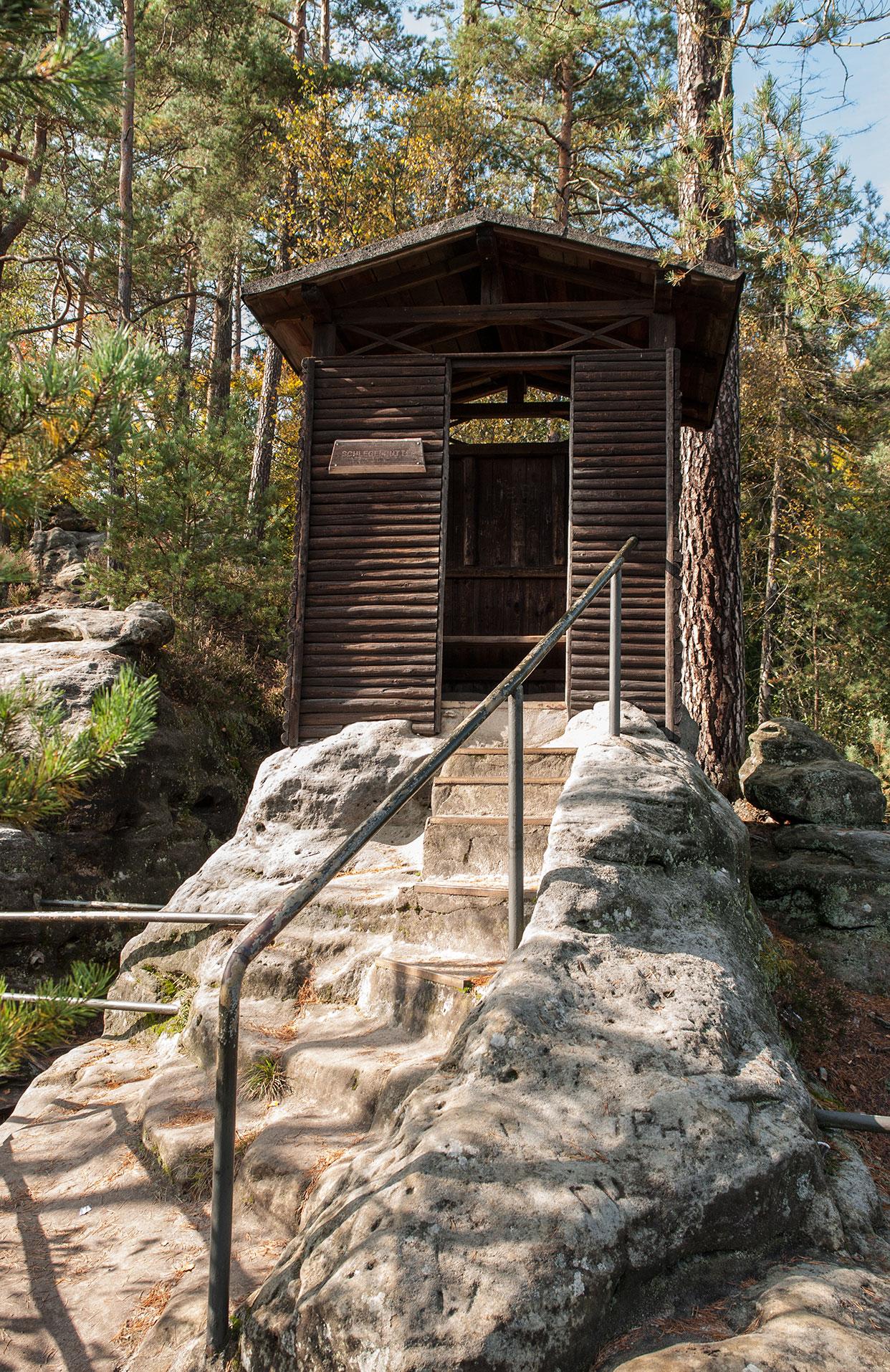 Schlegelhütte auf dem Hermannseck