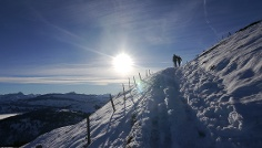 Am Riedberger Horn im Winter