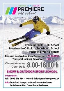 Ski rental Premiere ski school