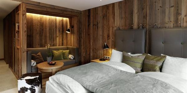 Comfort Doppelzimmer Löwen Hotel Montafon