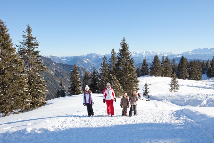 Winterwanderweg Weiße Wanne-©Autor: Judith Simon, Quelle: Kampenwandseilbahn GmbH