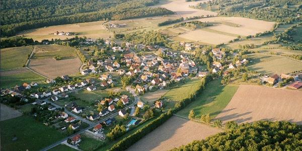 Luftbild von Hummersen