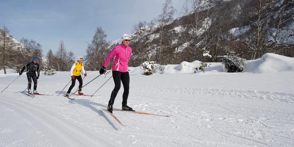 Ski de fond à Täsch