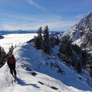 Gipfelgrat mit Bosruck