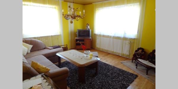 Wohnzimmer in der große Wohnung
