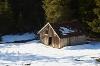 Hütte im Schnee.  - @ Autor: Martin Lässig  - © Quelle: Outdooractive Redaktion