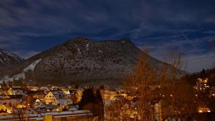Blick über die Stadt zum Immenstädter Horn.