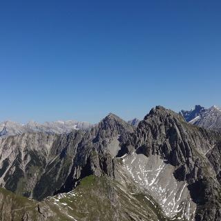 Blick Norden Karwendel