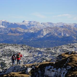Ausblick vom Schönberg nach Osten über das Plateau