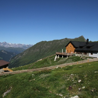 Geraer Hütte Richtung Stubaier Alpen