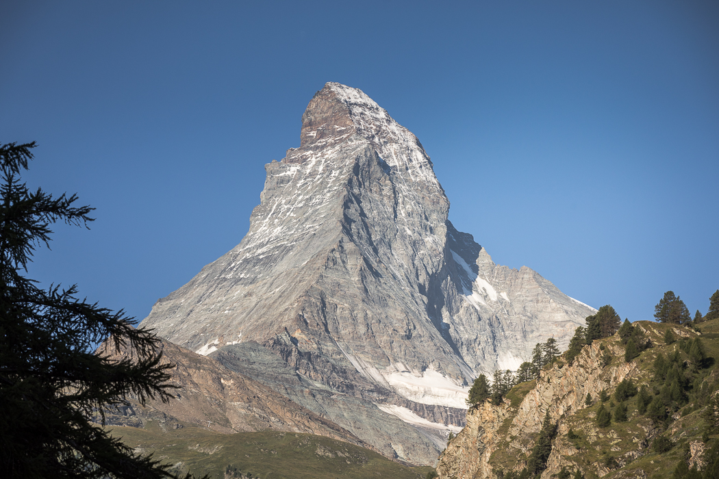 The hike around the Matterhorn