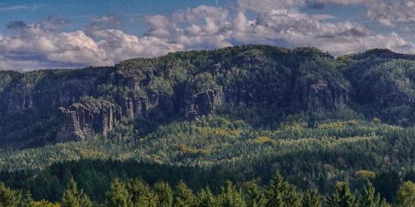 Panoramablick von Mittelndorf