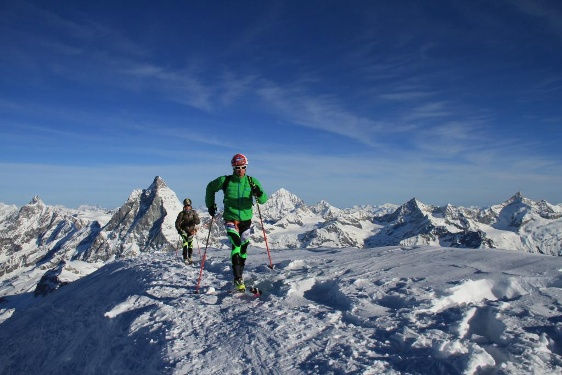 Competitors in the Matterhorn Ultraks race