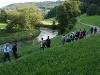 Gruppenwanderung im Naturparadies Kochertal  - @ Autor: Beate Philipp  - © Quelle: Hohenlohe + Schwäbisch Hall Tourismus e.V.