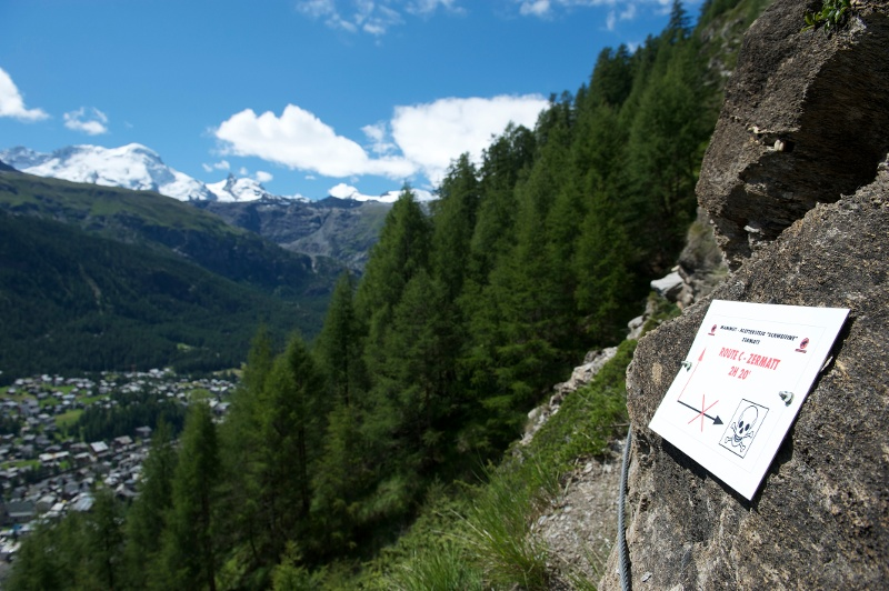 Klettersteig Zermatt : Klettersteig zermatt youtube