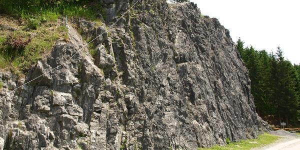 Klettersteig und Klettergarten Latschau