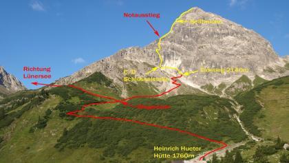 Klettersteig Hochjoch : Klettersteige im montafon die schönsten touren der region