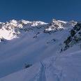 """Der Gipfel der Nockspitze - hat aus dieser Perspektive wenig von einer """"Spitze""""."""