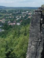 Foto Steilwand bei Tissa