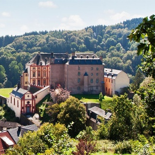 Blick auf Schloss Malberg