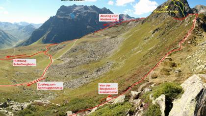Klettersteig Gargellner Köpfe