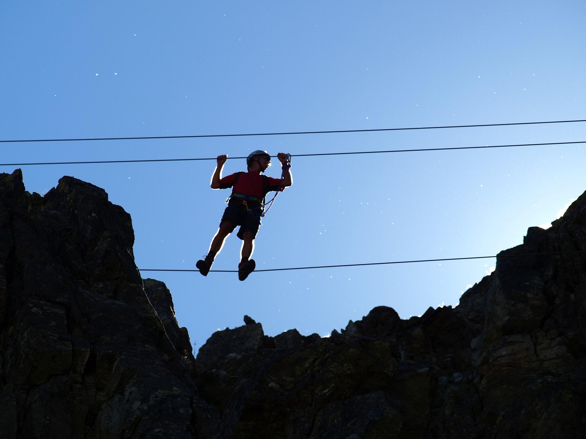 Vaude Klettersteig : Erfahrungsbericht vaude klettersteig camp klettersteige