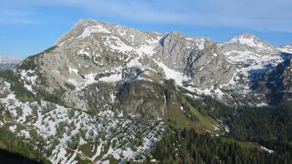 Der Schneibstein aus Nordwesten.