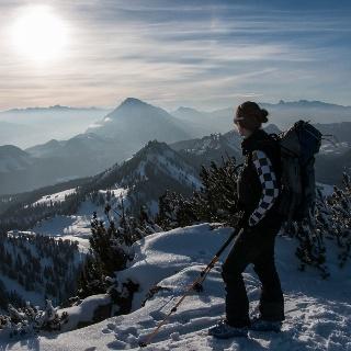 Am Gipfel des Raidling (1912m) mit Blick ins Ennstal