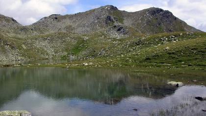 Gritzer Seen mit Gritzer Hörndl (re.)